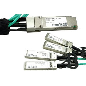 Active Optical Cables (AOC) QSFP Breakout
