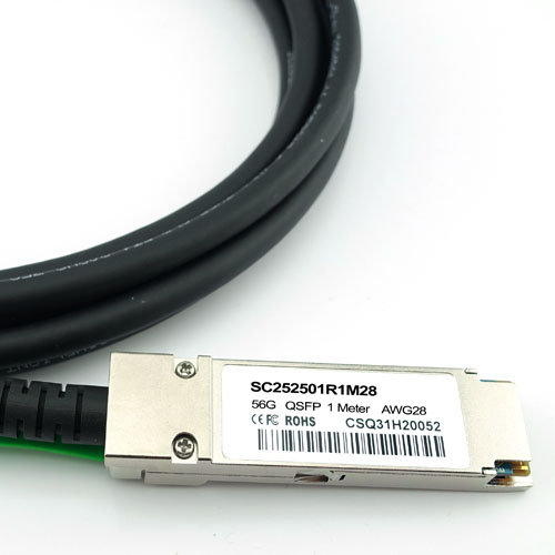 to QSFP LR-LINK QSFP 40Gb Ethernet DAC Cable Passive 3M Copper Twinax