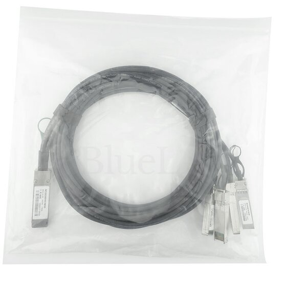 BN-QS-SP-CBL-0.5M Blade Networks  kompatibel, QSFP zu 4xSFP+ 40G 0.5 Meter DAC Breakout Direct Attach Kabel