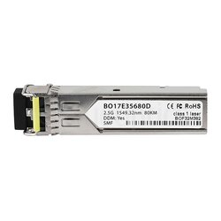 BlueOptics SFP Transceiver 2.5 Gb/s DWDM 80KM 100GHz