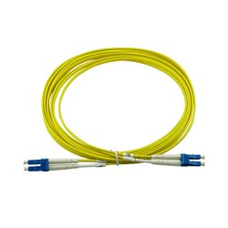 BlueOptics Duplex Fiber Patch Cord LC-LC Single-mode 1 Meter