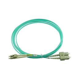 BlueOptics Duplex Fiber Patch Cord LC-SC Multi-mode OM3