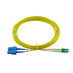 BlueOptics Duplex Fiber Patch Cord LC/APC-SC/UPC Single-mode